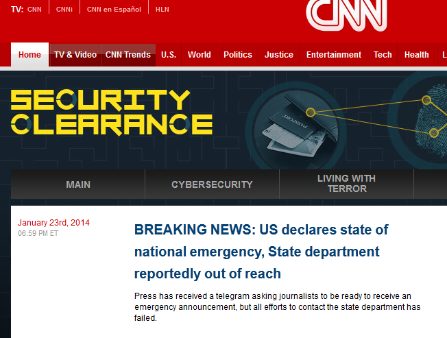 cnn website hacked by sea