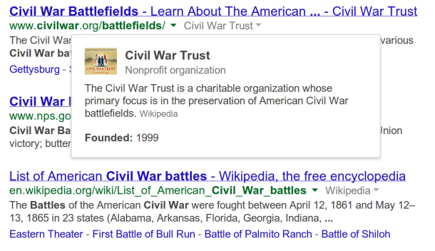 Google Search now reveals semisecret origins of sites